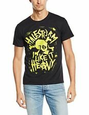 Punk Short Sleeve Solid T-Shirts for Men