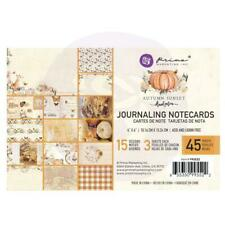 "Prima Autumn Sunset Journaling Cards 4X6"" 45/Pk15 Designs/3 Each 45 Notizkarten"