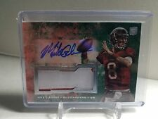 Mike Glennon 2013 Topps Inception RC Auto/2-COLOR Patch #/75 Bucs BEARS