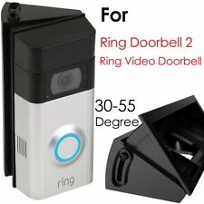 Adjustable 30 to 55 Degree Angle Mount for Ring Video Doorbell 2 / Ring Wi-Fi