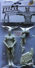 "CLOUD WHITE MALE BODY BLANK Boss Fight VITRUVIAN HACKS 4"" Inch Bagged FIGURE"
