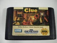 Clue (Sega Genesis, 1992)