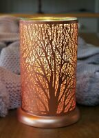 Wax Burner - Forest Rose Gold Owlchemy Electric wax warmer with light & dimmer