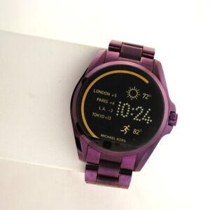 Michael Kors Access Touchscreen MKT5017 Bradshaw Smartwatch SS link Band Watch