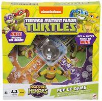 Teenage Mutant Ninja Turtles Pop Up Game Frustration Family Board Game Dice Game