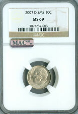 1965 ROOSEVELT DIME NGC MAC MS-67 FT SMS PQ SPOTLESS .