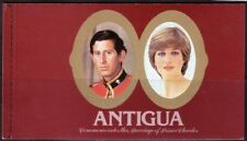 ANTIGUA 1981 Prince Charles & Lady Diana Royal Wedding Stamps Booklet