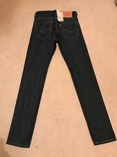 NEW Men's/Boys Levis 510 Skinny Fit Stretch Jeans W27 L32 RRP £85 (1065)