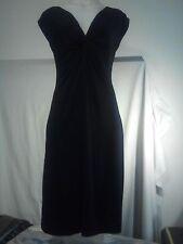 Dress Barn Ladies Dress in Black Size 10
