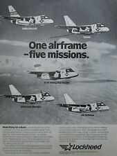 11/1981 PUB LOCKHEED S-3A VIKING US NAVY TANKER SUB HUNTER ELECTRONIC WARFARE AD