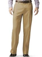 Dockers D3 Classic Fit Pants Mens Flat Front Permanent Crease Casual Chino Khaki