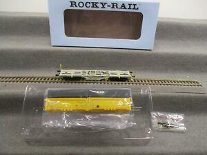 Rocky-Rail H0 RR40103 AC Güterwagen Containertragwagen beladen DB in OVP