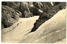 CPA 73 Savoie Massif de la Vanoise Col de la Grande-Casse animé