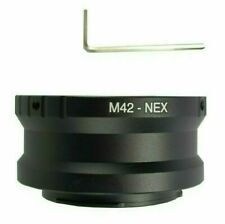 Adjustable M42 Lens for Sony E Mount a6600 a6300 a3000 NEX-7 a3500 a6400 Adapter