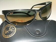 49a18f85f5 VINTAGE B L RAY BAN W2352 GOLDEN FLASH GLITTERED G15 SKYLINE WRAPs  SUNGLASSES