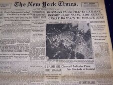 1944 MARCH 15 NEW YORK TIMES - RUSSIANS CLOSE TRAP IN UKRAINE - NT 1834