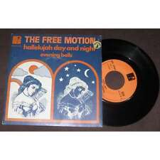 THE FREE MOTION - Hallelujah Day And Night Rare French PS Xian Folk 1960's