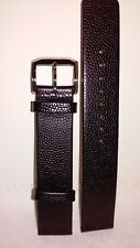 2 Sets Of Kenneth Cole18mm Black Leather Watch Straps