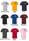 Nike Mens Short Sleeve left chest small Logo Printed T-Shirt
