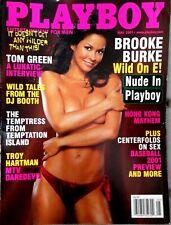 NEW Play B Magazine May 2001 Brooke Burke Tom Green Troy Hartman MTV Daredevil