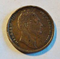 Gedenk-Medaille 1837 an den Tod von William IIII. von England - (2365