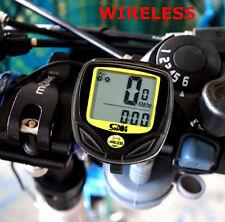 Wireless Bike Computer Odometer Speedometer Road Bike MTB Cycle Bicycle BMX