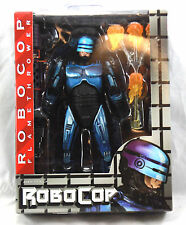 "NECA SNES Video Game Series 7"" Robocop VS Terminator Robocop w/ Flamethrower New"