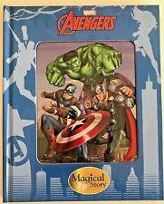 "MARVEL ""AVENGERS"" magical story hardback book NEW!!!!"