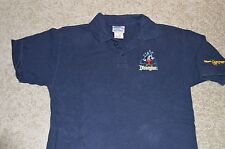 Disneyland polo golf shirt Mickey Mouse embroidered Adult Small Walt Disney