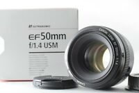 ***Mint*** Canon EF 50mm F/1.4 USM Lens in Box For EF Mount From Japan