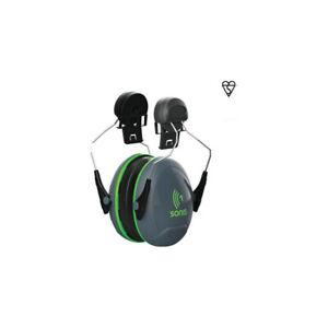 JSP Sonis® 1 Helmet Mounted Ear Defenders Hearing Protection SNR=26dB Earmuffs