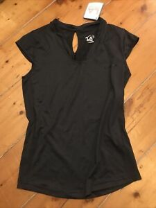Ladies New With Tags L A gear Size 8 Gym Sports Top Vest