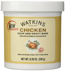 Watkins Chicken Soup and Gravy Base Net Wt 8.29oz 235g