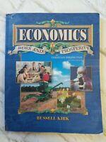 Abeka Economics 12th Grade High School Student Text 2nd Edition Second 61263010