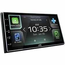 JVC KWM745DBT Apple CarPlay and Android Auto Receiver