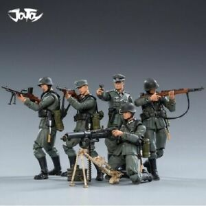 "5pcs JOYTOY JT0449 1/18 WWII German Wehrmacht 4"" Action Figure"