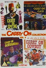 Carry On Collection Vol3 (Spying  Cleo  Screaming  Cowboy) [DVD]