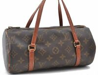 Authentic Louis Vuitton Monogram Papillon 26 Hand Bag Old Model M51366 LV B4411