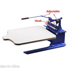 1 Station Silk Screen Printing Machine / DIY T-Shirt Press Printer Single Color
