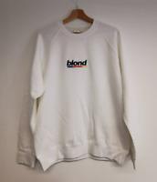 Blond embroidered sweatshirt. All sizes. Frank Ocean