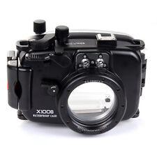 40M 130ft Waterproof Underwater Housing Case For Fujifilm Fuji X100S 23mm Lens