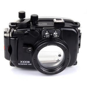 New 40M 130ft Waterproof Underwater Housing Case F Fujifilm Fuji X100S 23mm Lens