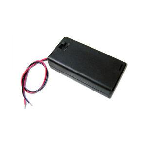 Container Batteriehalter 2 Setzt Stilo Aa mit Deckel Schalter Und Reihen
