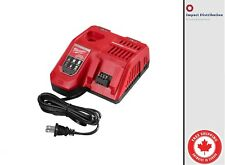 New Milwaukee 48-59-1808 Rapid Charger M12/M18 For Lithium-Ion Battery