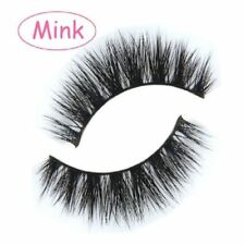 100% Echt 3D Mink Haar falsche unechte künstliche Wimpern echthaar Wimpern