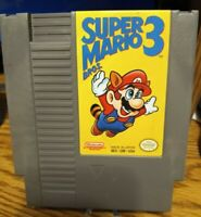 Super Mario Bros. 3 Nintendo NES First Print Left Bros Tested See Pictures