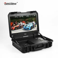 "Bestview 19"" Case IPS LCD TFT Field Monitor HD BP V Mount Plate HDMI SDI BSY198"