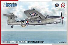 Special Hobby 1/72 Fairey Barracuda Mk.III 'ASW Mk.XI Radar' # 72408