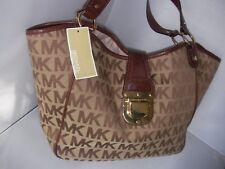 NEW Michael Kors Charlton Handbag BGE/EB/MOCHA COLOR