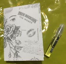 True Religion For Women Perfume Sample 1.5 Ml Vial EDP .05 Fl Oz
